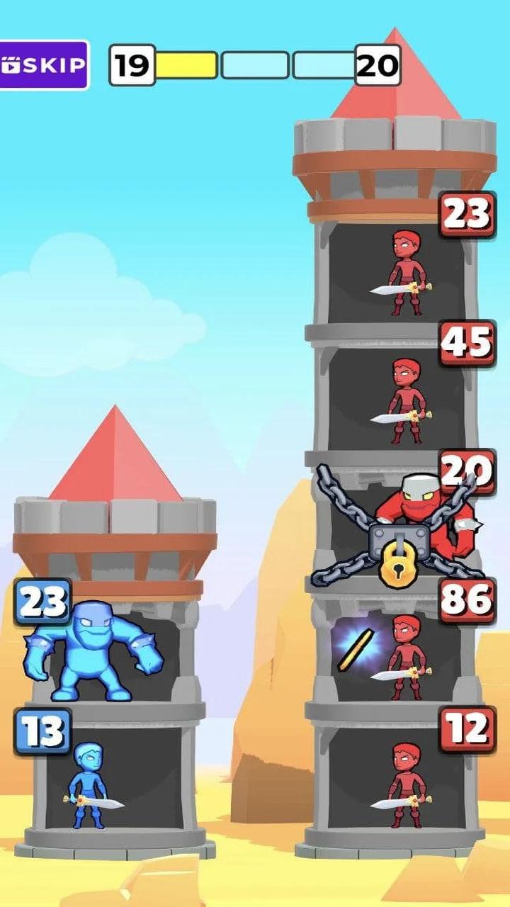 英雄塔战游戏截图